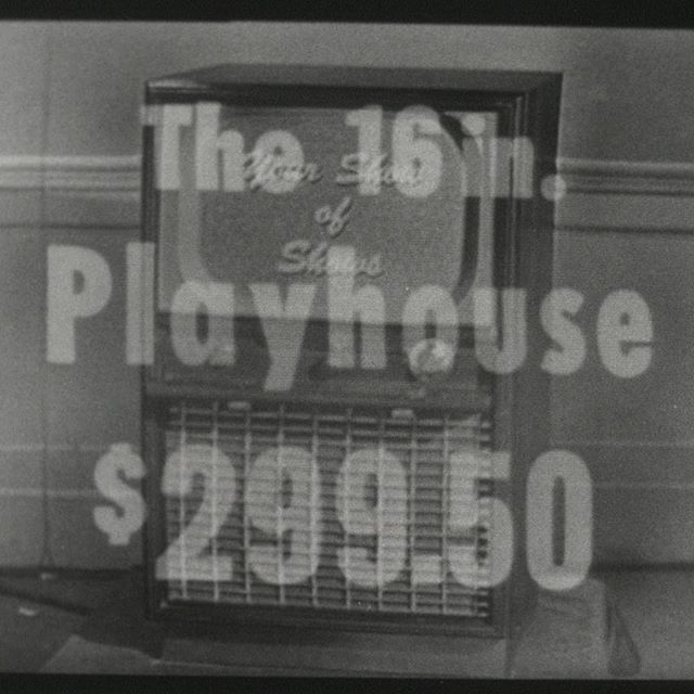 Ever wonder how much a TV cost in 1950s America? Well, here's a frame grab from an ad that came on during an April, 1950 episode of Your Show of Shows starring Imogene Coca and Sid Caesar. $299.50! Given that's nearly 70 years ago, it sure seems a lot! #yourshowofshows #imogenecoca #sidcaesar #fredwillard #kevinpollak #gsff #NBFF20 #NBFF2019 #comedy #documentary #funnyyouneverknew