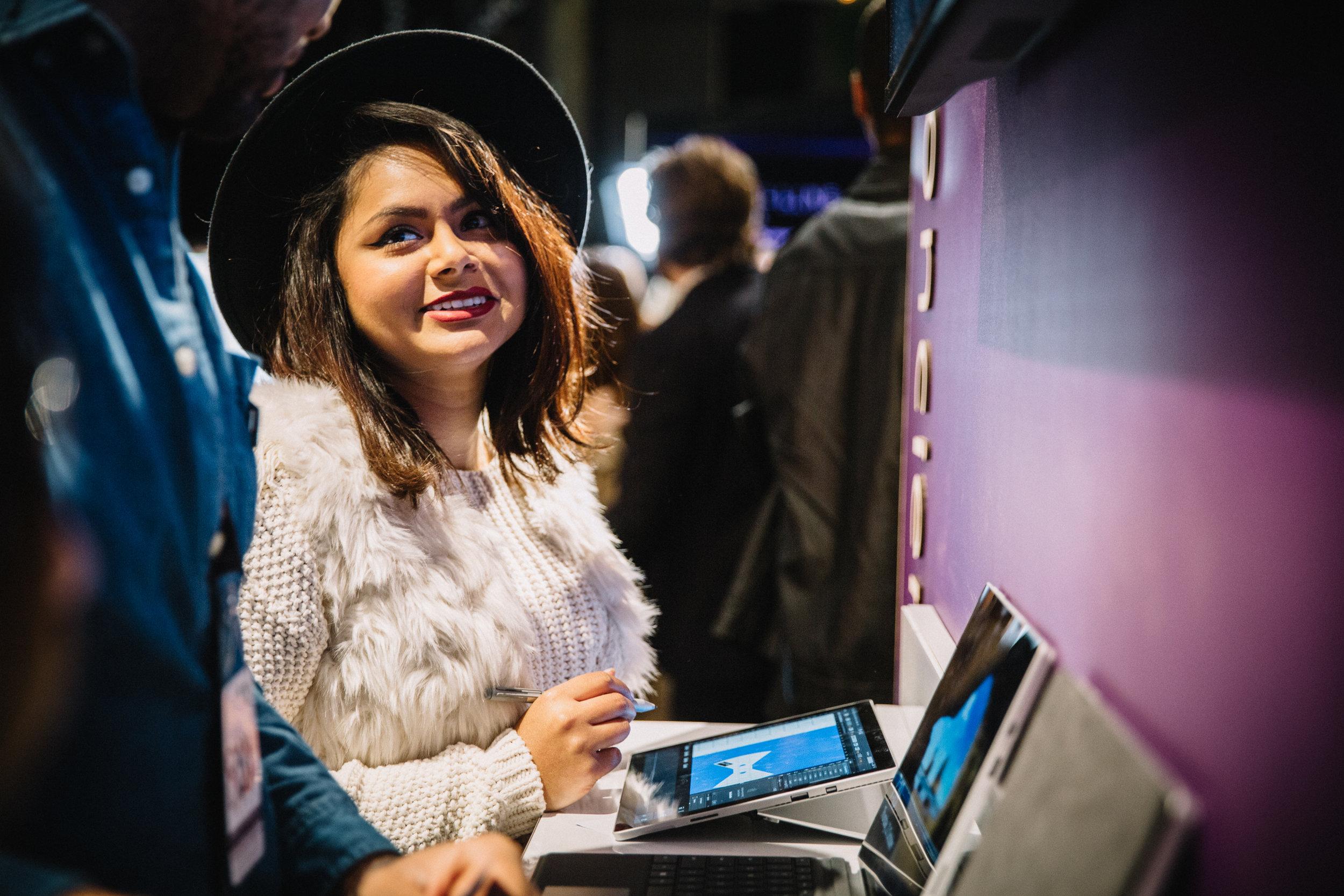 Laser Engraving, Fashion Week, Microsoft (2).jpg