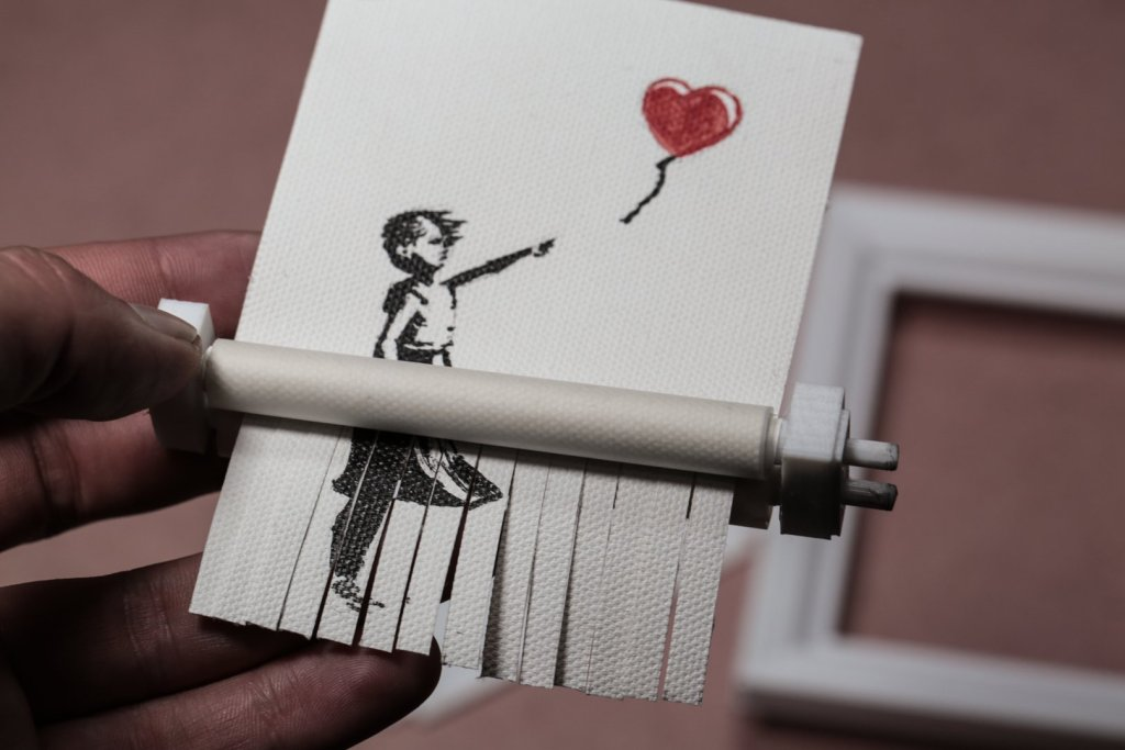 Banksy Art Shredder