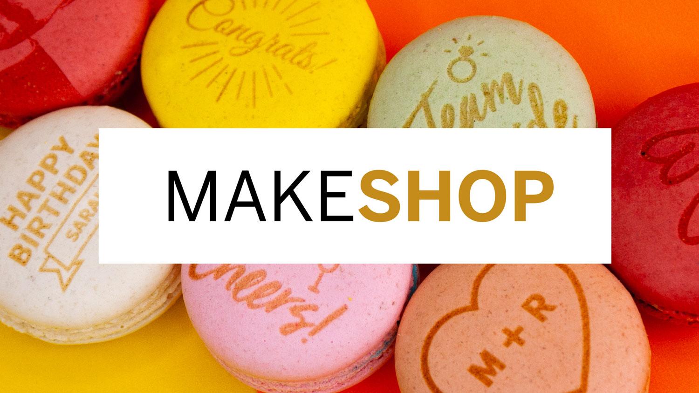 MakeShop macarons