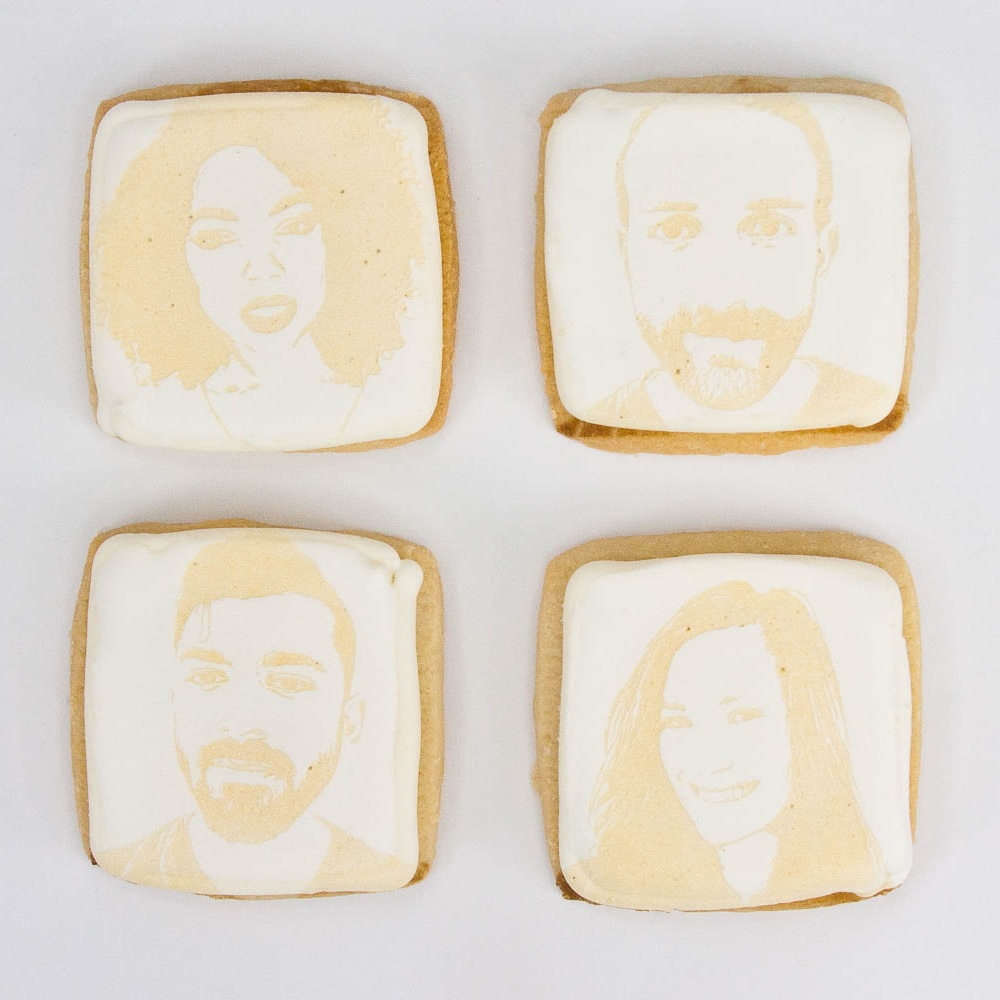 What:  Selfie Sugar Cookie