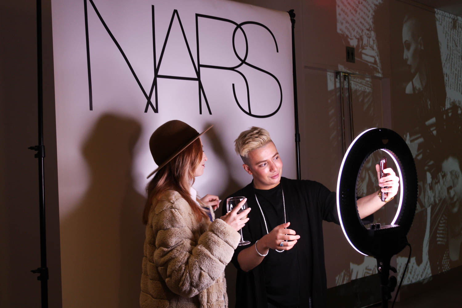 What:  Selfie Booth |  Client:  NARS