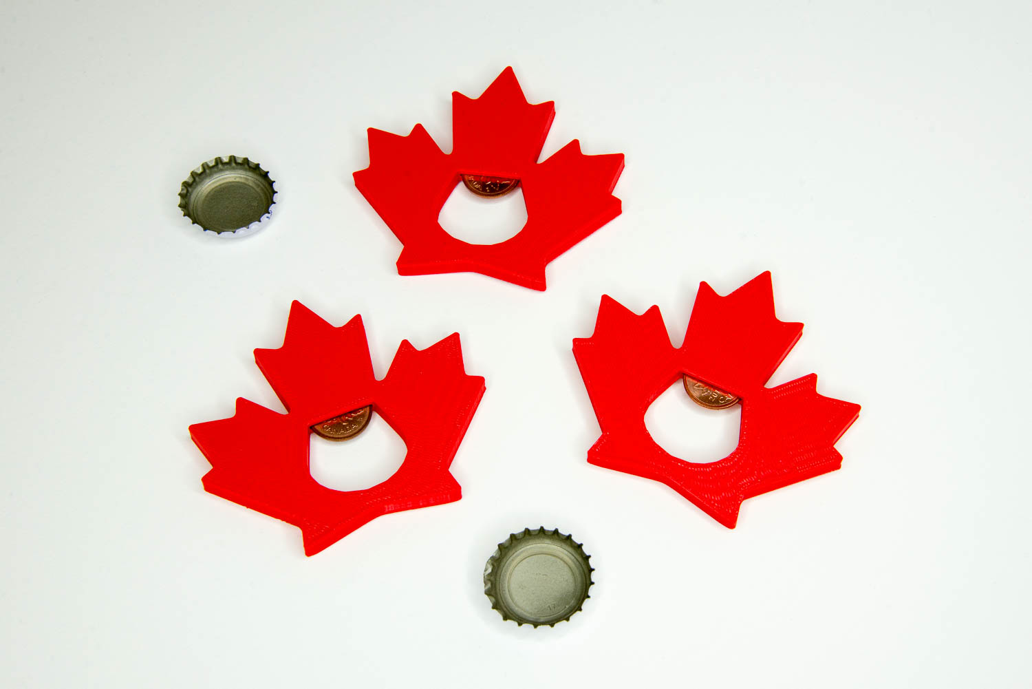What:  Bottle openers |  Tool:  3D Printer
