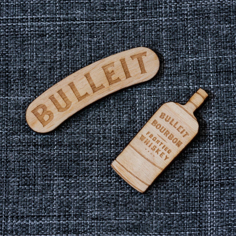 What:  Lapel Pins |  Client:  Bulleit