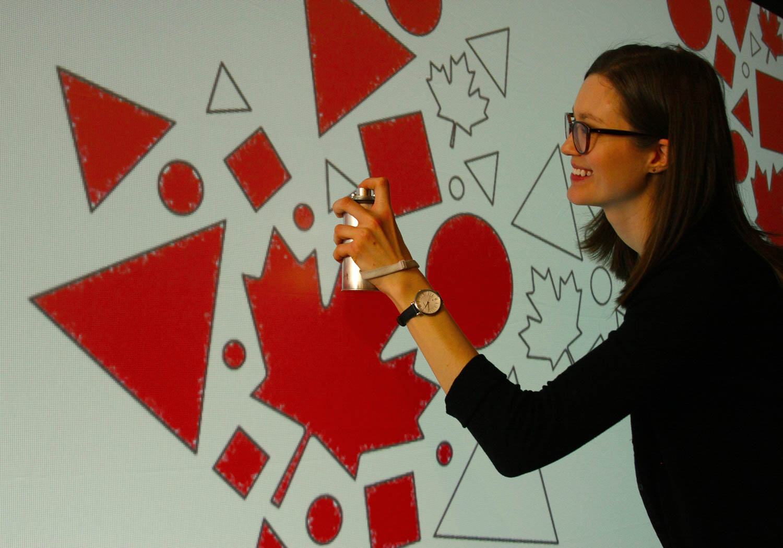 Tool:  Graffiti spray can controller
