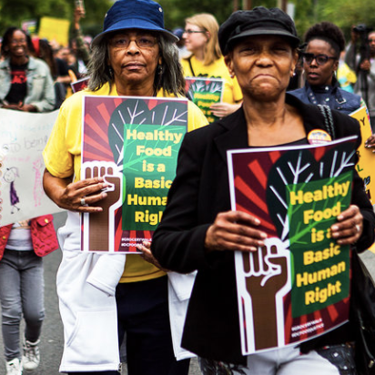 Food Access Advocates Walk The Long Walk... To The Nearest Grocery Store, NPR