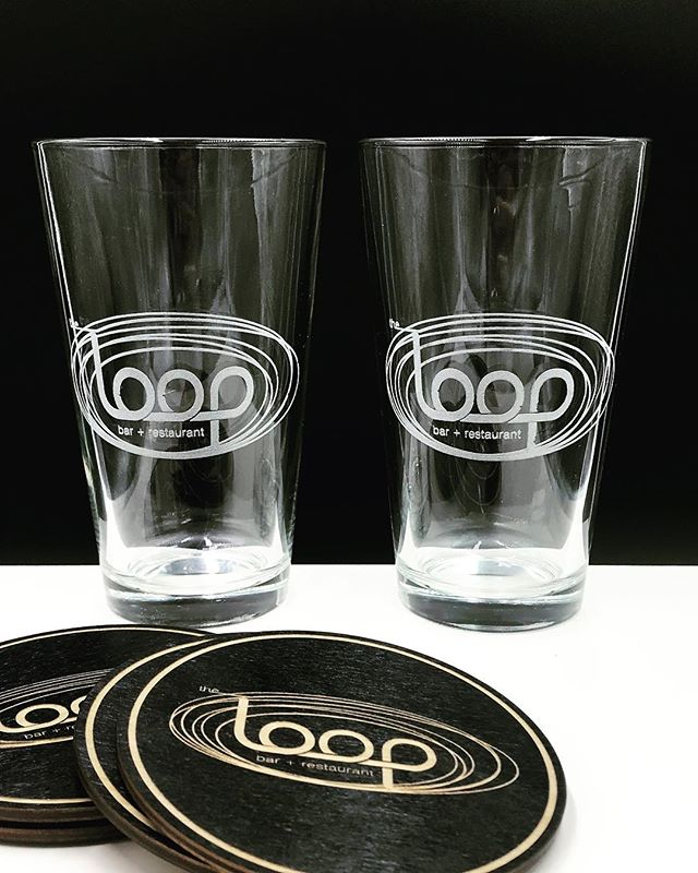Cheers to the freakin' weekend! • • • #modestlaser #modestmade #landoflakes  #laser #laserengraved #pintglasses #shoplocal #supportlocal  #local #knowyourmaker #mnmakers #mnmade #twincities #minneapolis #minnesota #theloop #cheers #bottomsup