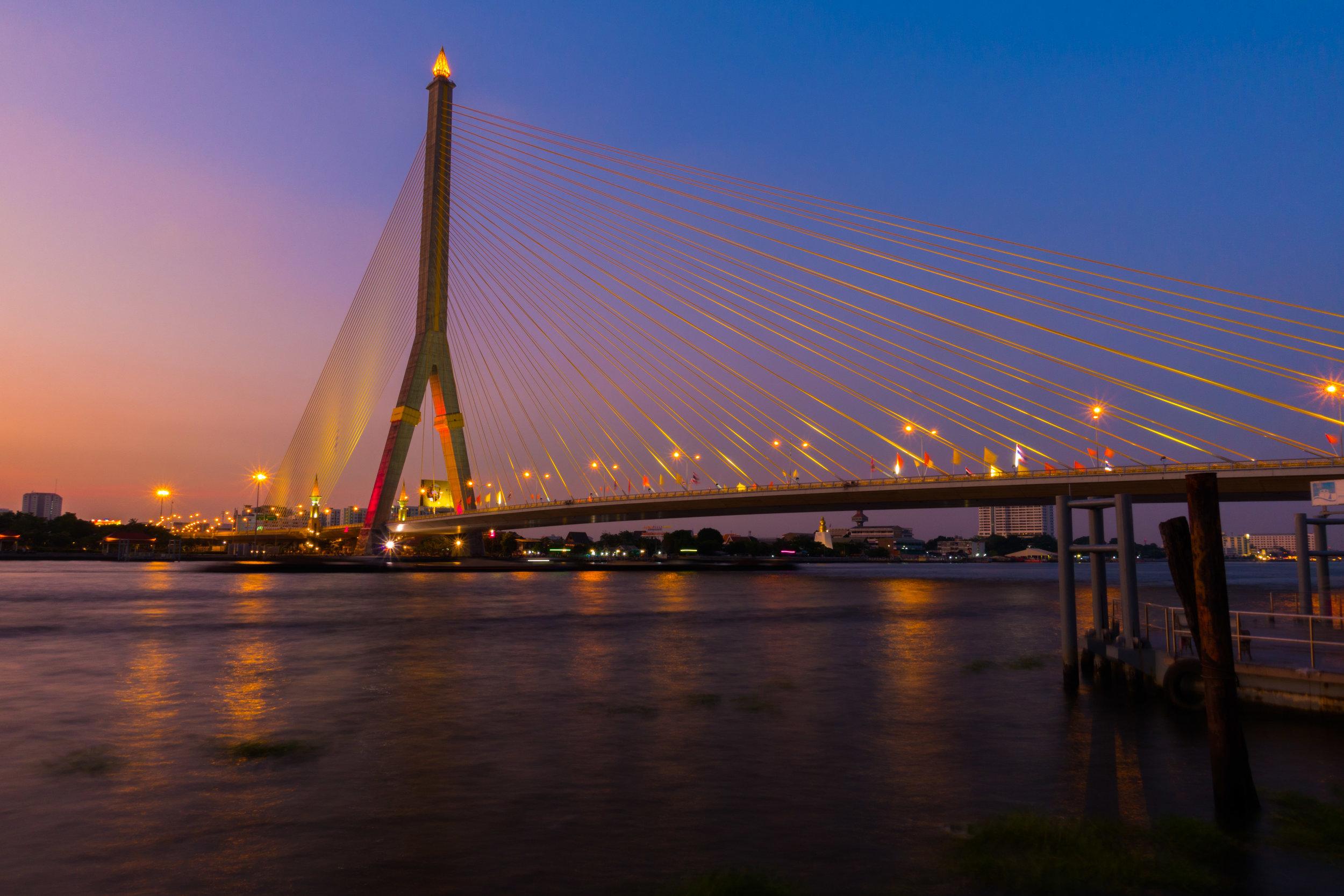 Rama 8 Bridge Sunset.jpg