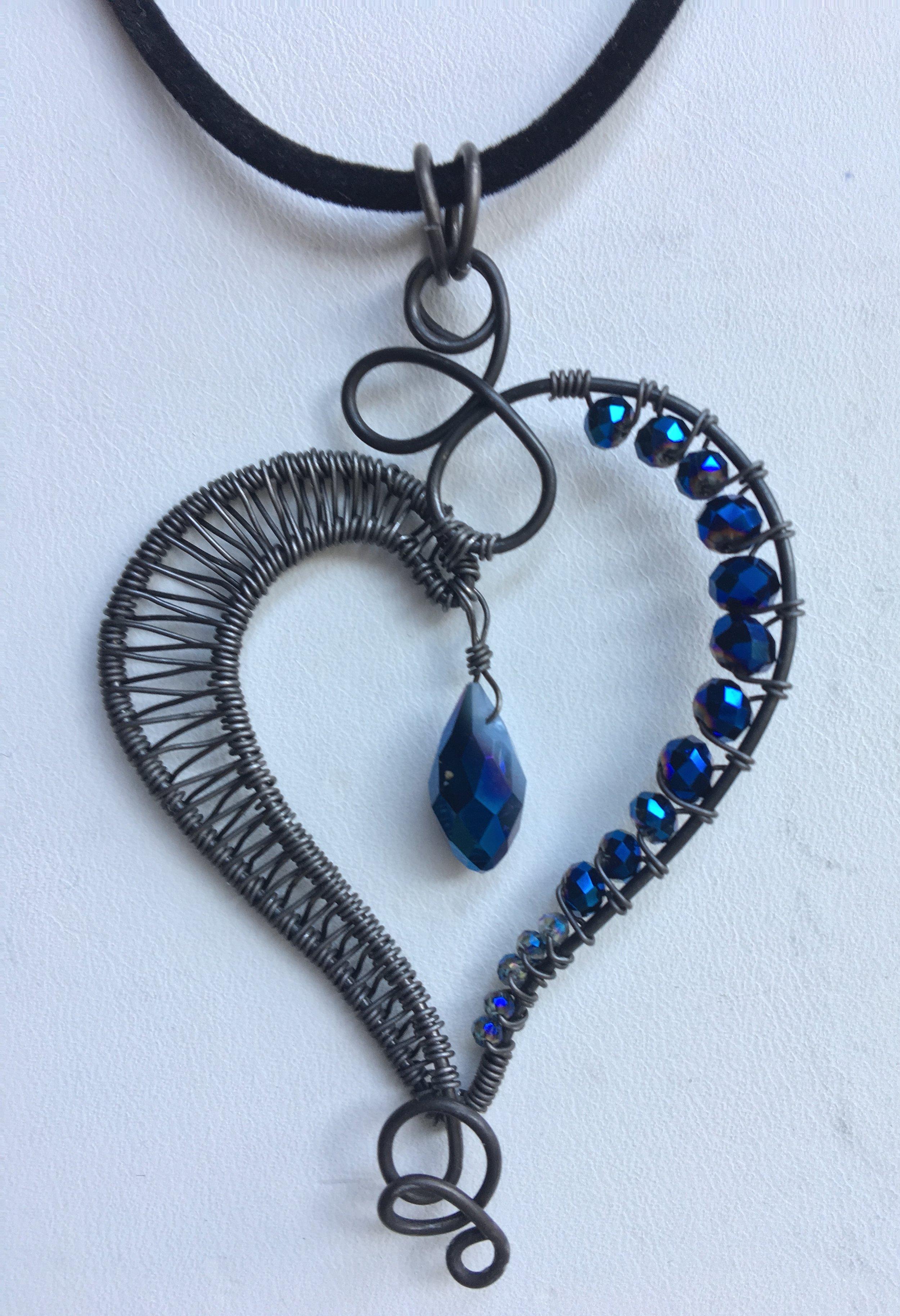 HSN9 Black & Blue Heart.JPG