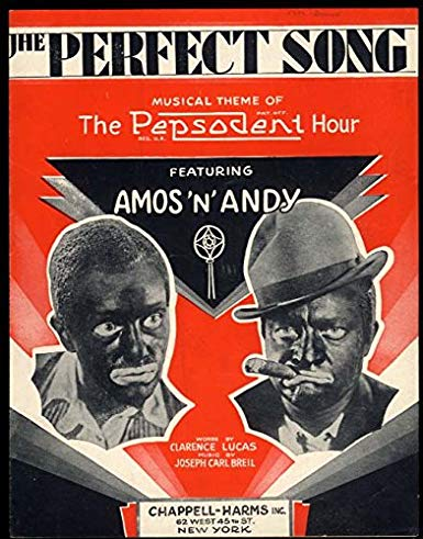 - In 1930, Amos N' Andy was one of the most popular radio programs in the nation. People across America were entranced by the storyline, which began with Amos Jones and Andy Brown leaving a farm in Atlanta to head for Chicago. Despite warnings from a friend, they purchased tickets and ham-and-cheese sandwiches for $24 and went in search of a better life. The radio show ran until 1960, during which time listeners enjoyed storylines about various the antics of naive Amos, lazy Andy, and a full cast of distinctive characters. By 1931, over 40 million listeners tuned in and the show became the highest rated radio comedy in history.