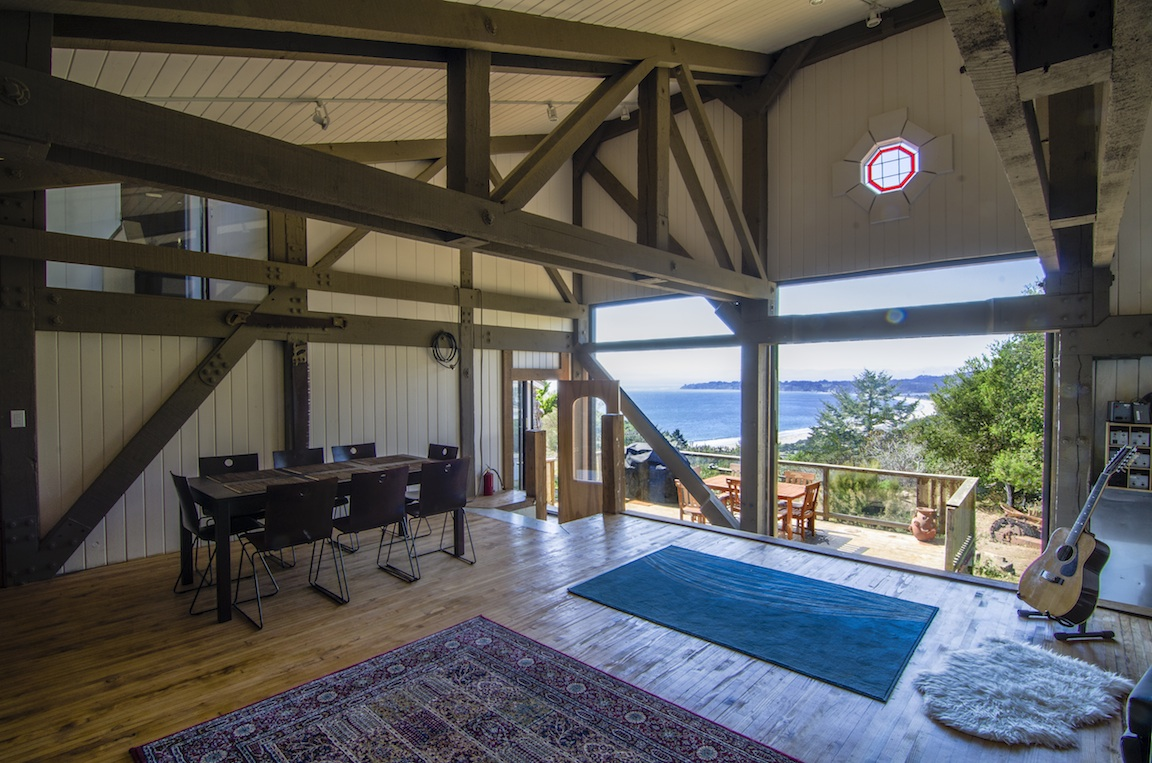 Great room with great views of Stinson Beach.