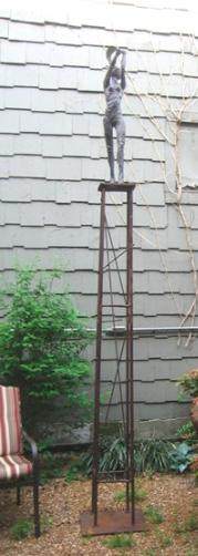 Freedom Tower, 10', steel