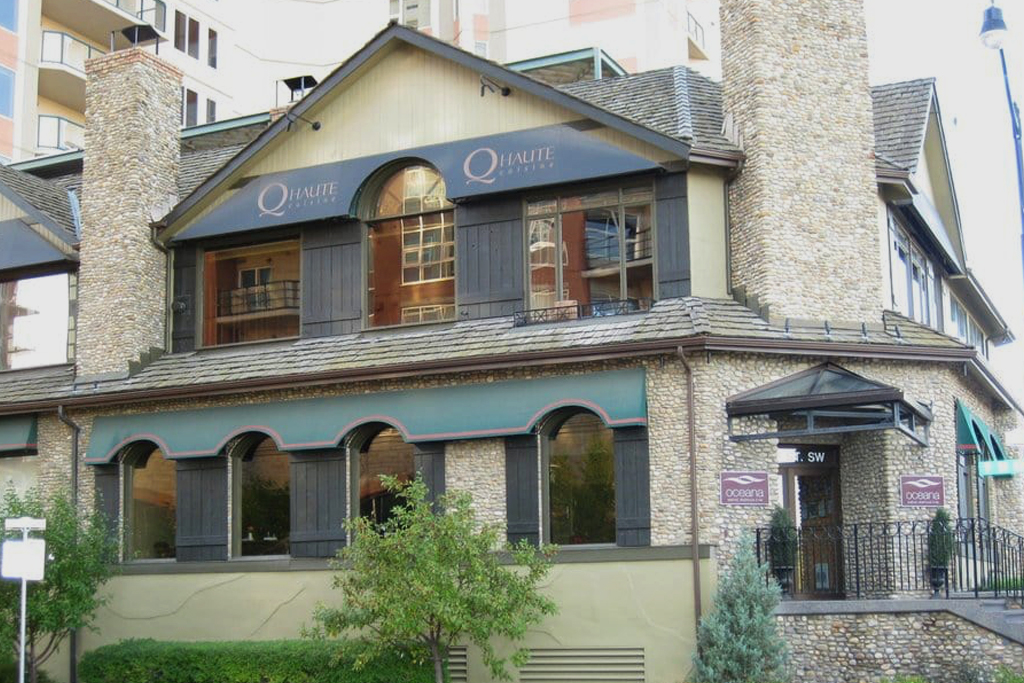 This event took place at the beautiful Q Haute Cuisine, one of Canada's premiere restaurants.