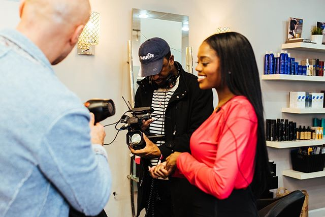 BTS with WUSA9
