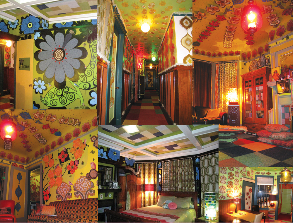 Megan Wilson, collage of images from Home, 1996-2008; photographs copyright ©2008 Eliza Barrios
