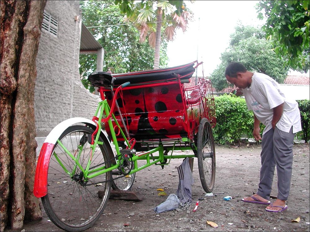 Gipar repairing Ladybug #7