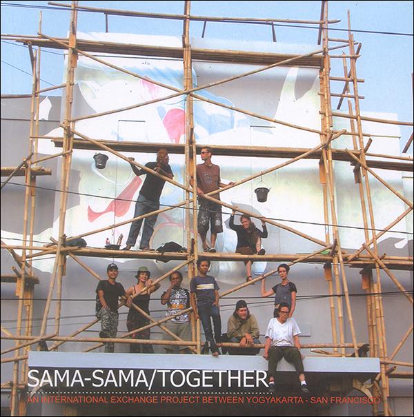 """Cover of book """"Sama-Sama/Together, published by Jam Karet Press, 2006"""