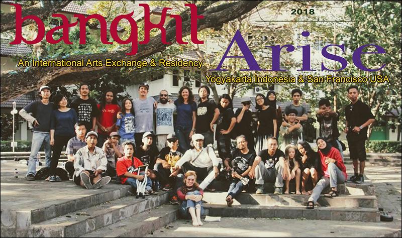 """Bangkit/Arise"" international exchange & residency project, Yogyakarta, Indonesia, July 2018"