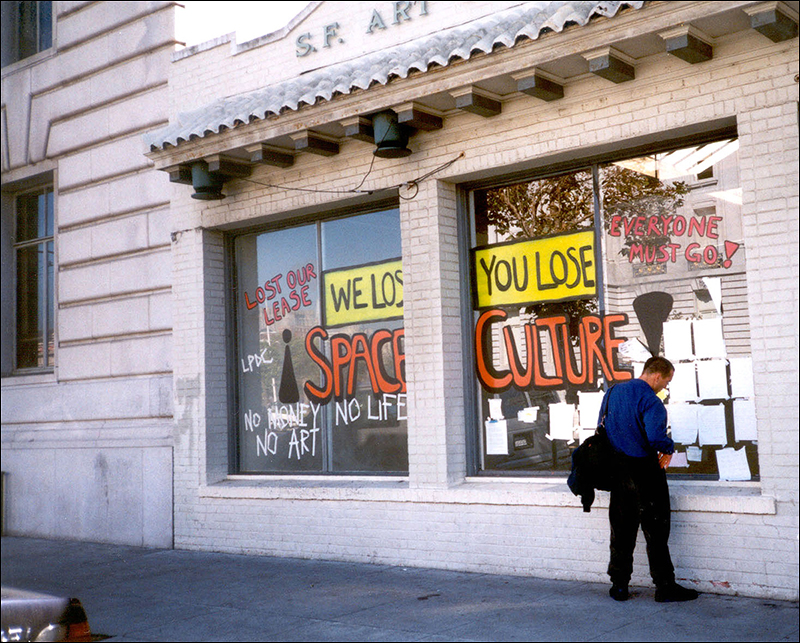 We Lose Space / You Lose Culture  , Megan Wilson and Gordon Winiemeko, San Francisco Art Commission's Grove Street Gallery, 2000