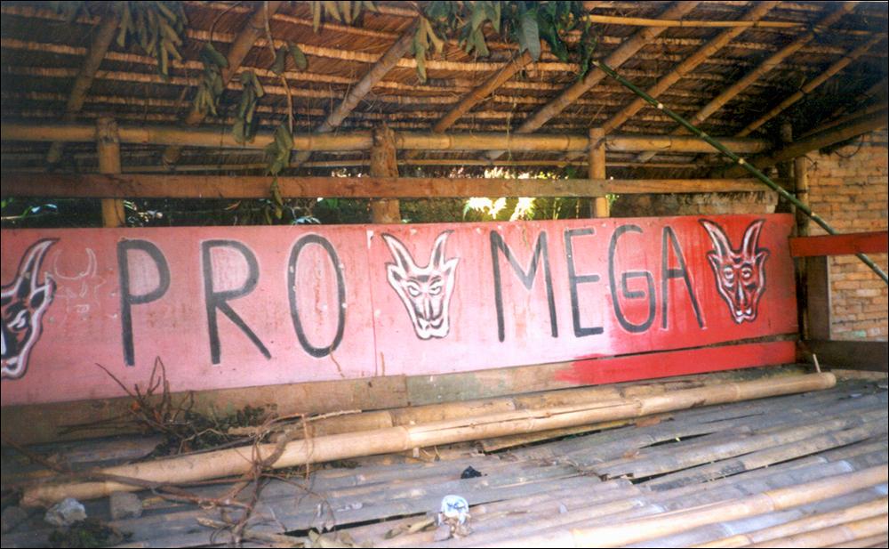 PDI Lookout Stations, Bali, Indonesia, 2001, Photo Credit: Megan Wilson