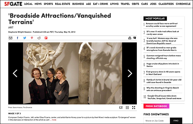 "San Francisco Chronicle, ""Broadside Attractions 
