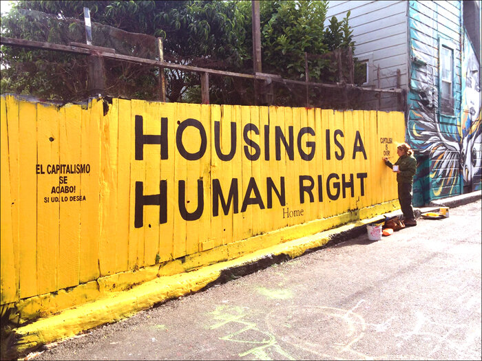 2015 - Housing is a Human Right Mural