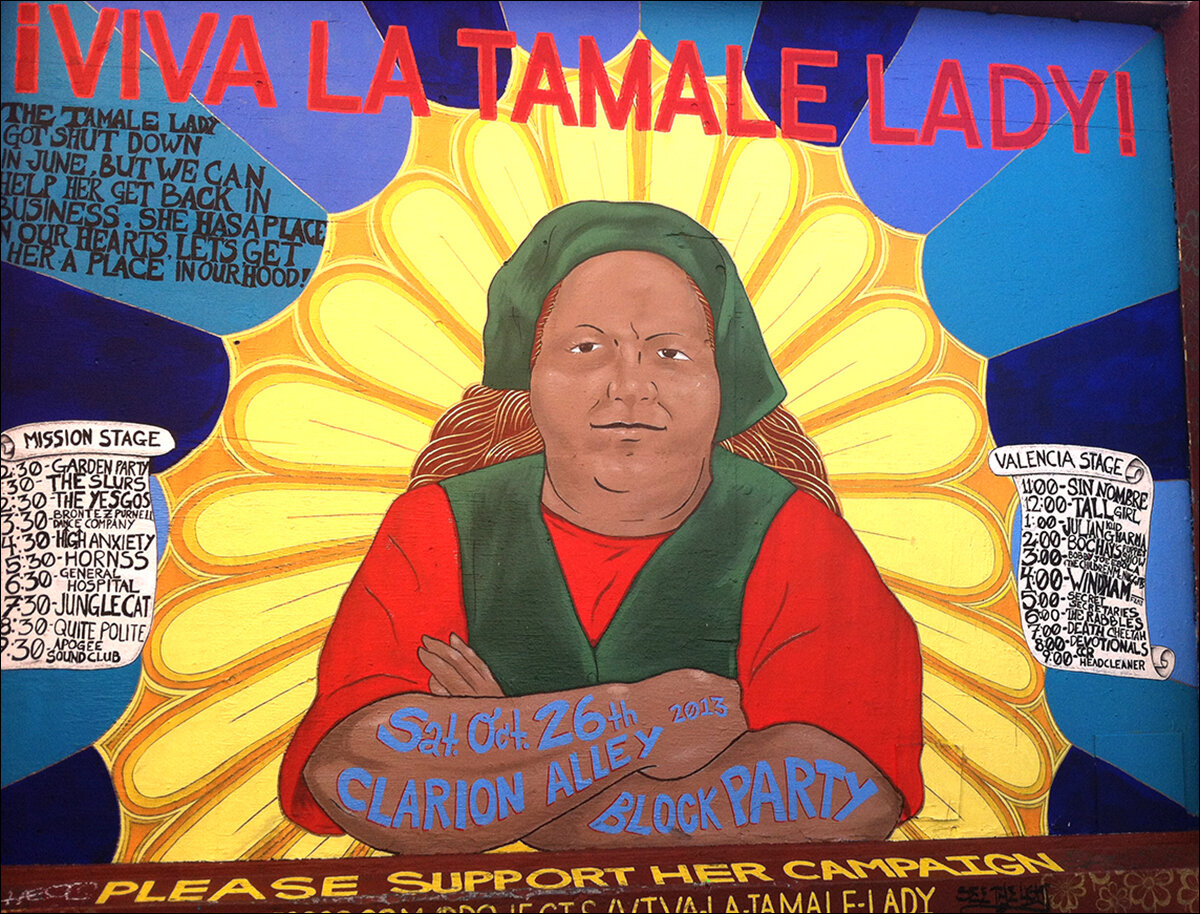 Viva La Tamale Lady!