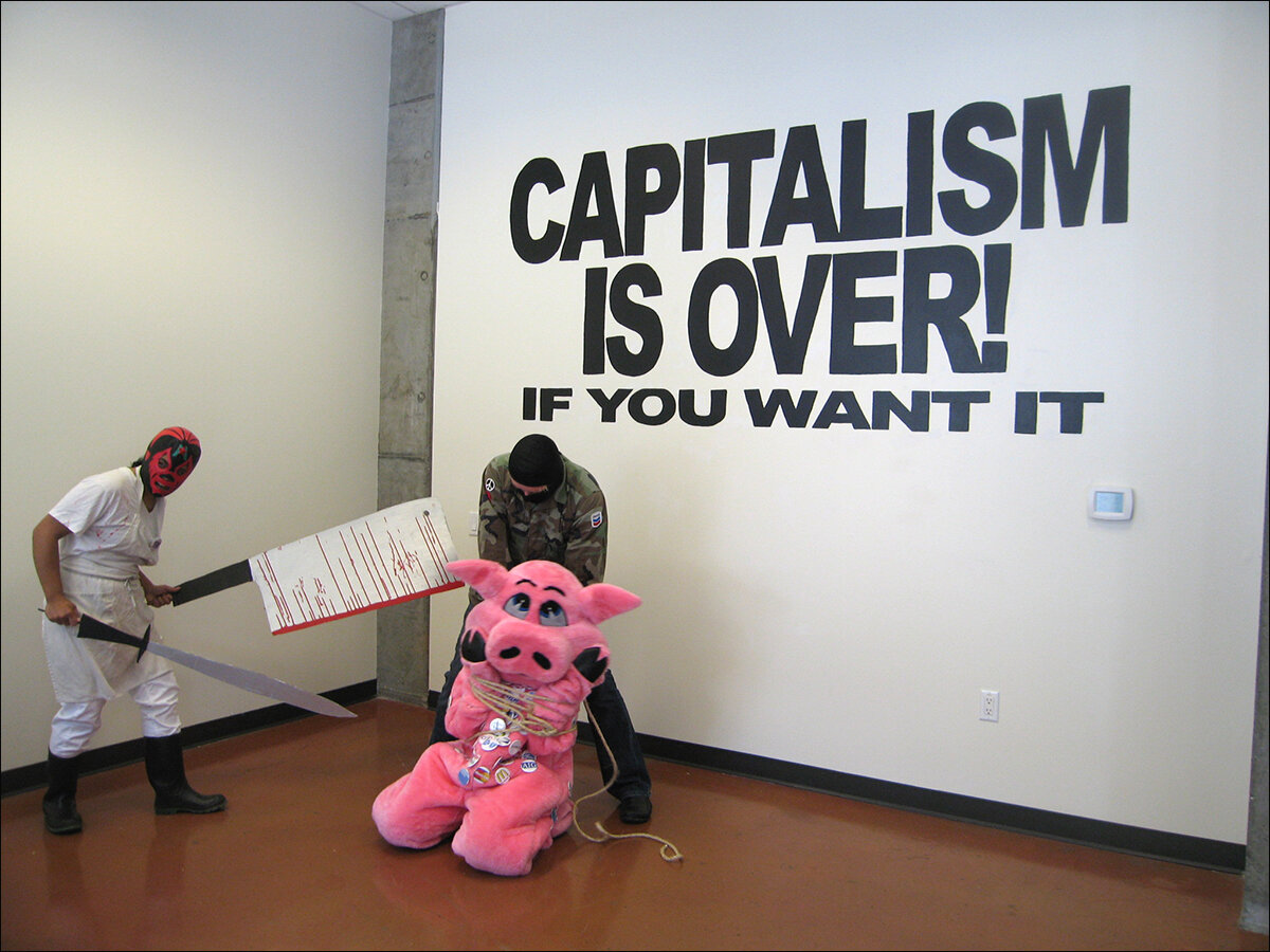 Capitalism is over!