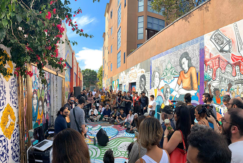 Clarion Alley Mural Project (CAMP)