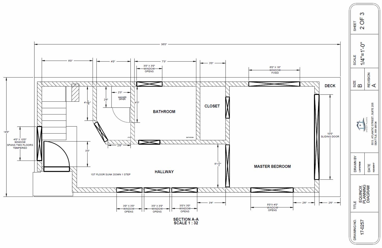 Equinox First Floor Plan