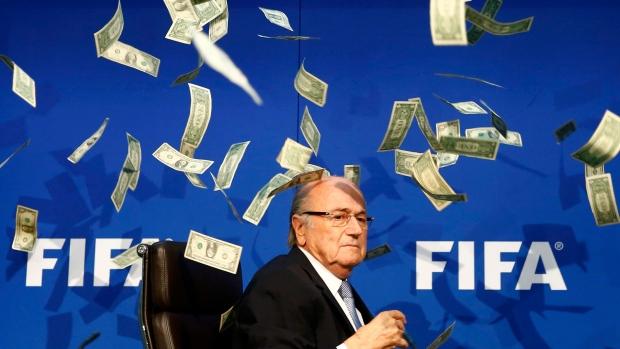 Sepp Blatter is a scumbag!