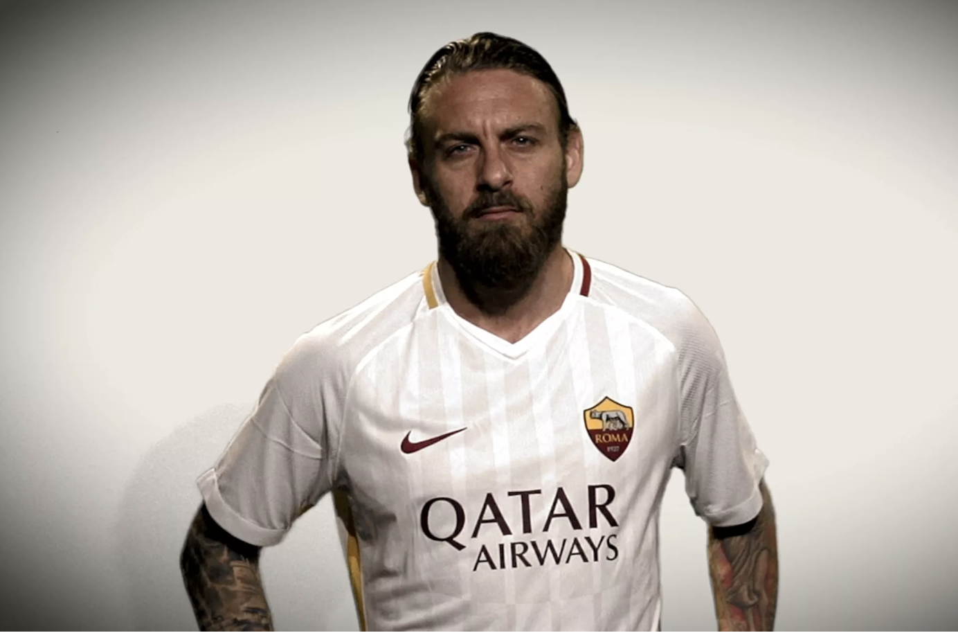 Roma debuted this kit before traveling to Anfield and getting thrashed by Liverpool in the Champions League Semi-finals.