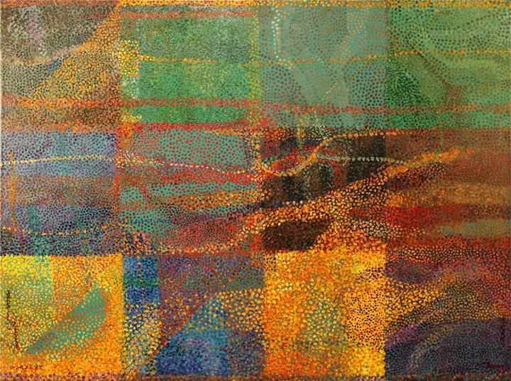 """PATHWAYS ... oil on canvas  18""""x24"""""""