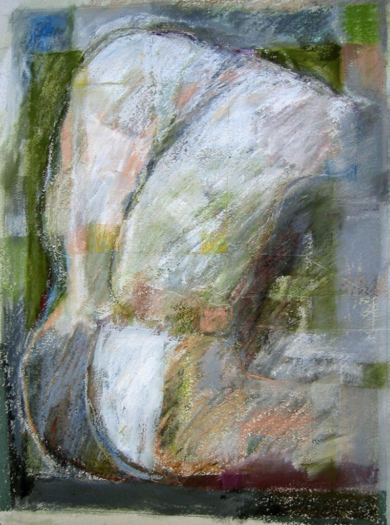 """FIGURE SERIES 5 ... mixed media on paper 28""""x22"""""""