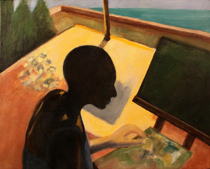 """CALA SAONA ... oil on canvas 16""""x20"""""""