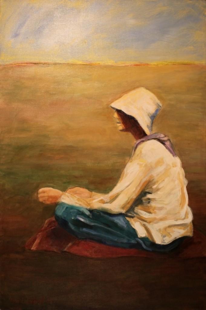 "OTRANTO FIELD ... oil on canvas  36""x24"""
