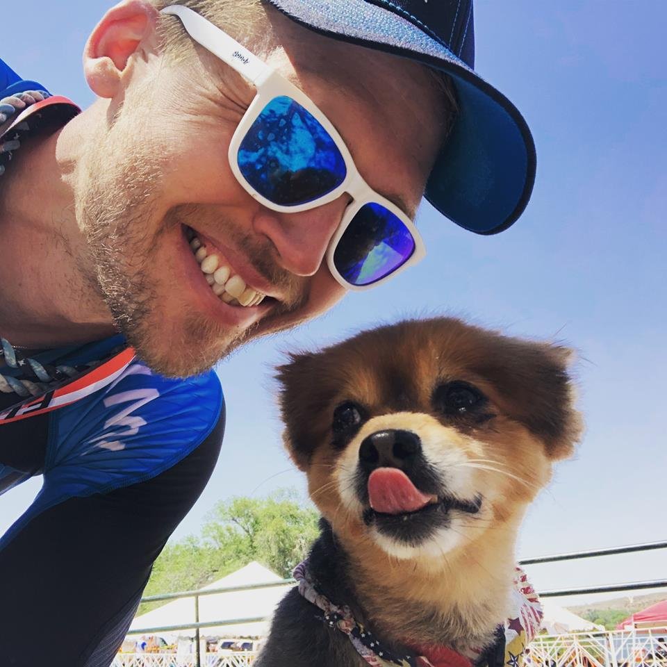 Coach_Terry_Wilson_Pursuit_of_The_Perfect_Race_IRONMAN_Buffalo_Springs_Lake_70.3_Mark_Clee_Dog.jpg