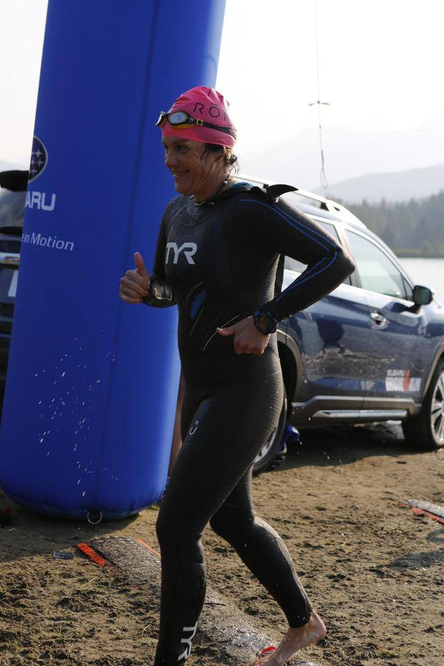 Coach_Terry_Wilson_Pursuit_of_The_Perfect_Race_IRONMAN_Canada_Michelle_Myer_Triathlon_Racing_Mike_Riley_Swim_out.jpg