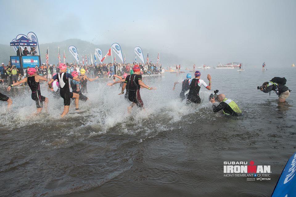 Coach_Terry_Wilson_Pursuit_of_The_Perfect_Race_IRONMAN_Mont_Tremblant_Amy_VanTassell_Chris_Bagg_Swim_Start.jpg