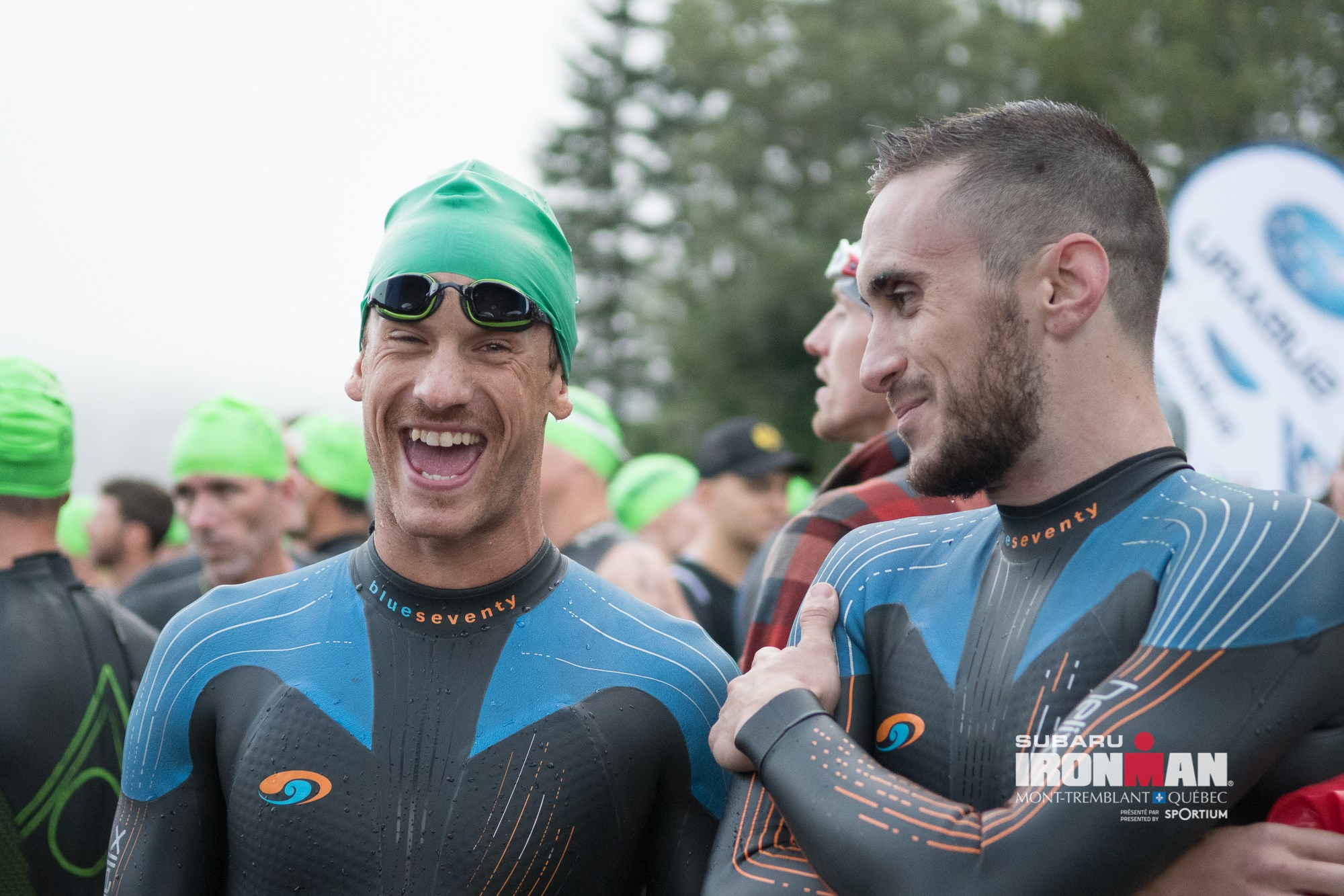 Coach_Terry_Wilson_Pursuit_of_The_Perfect_Race_IRONMAN_Mont_Tremblant_Cody_Beals_Start_Line_Lionel Sanders.jpg