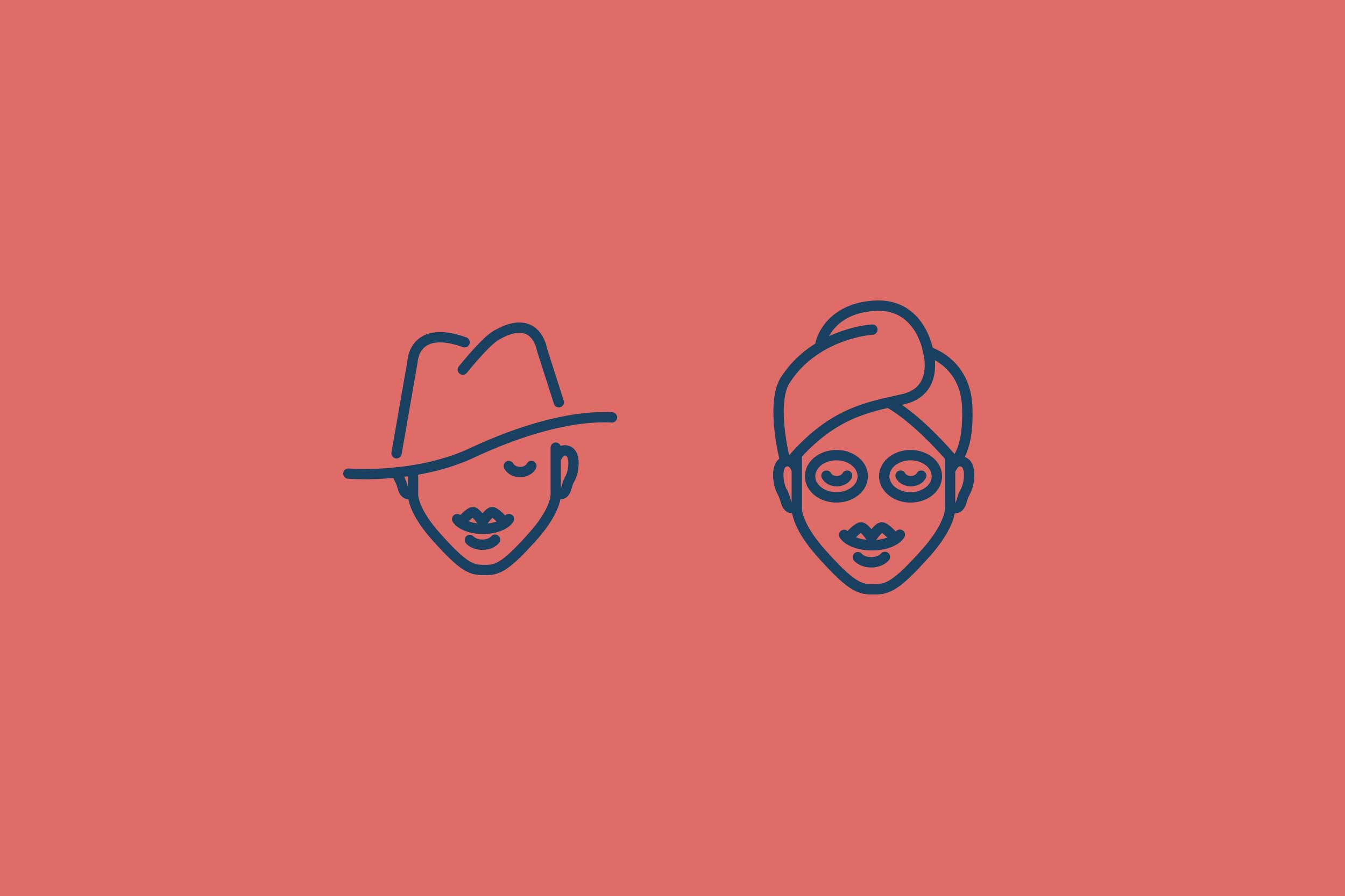 Style and Skin Type icons designed for the Wheesearch brand that is used across all channels.