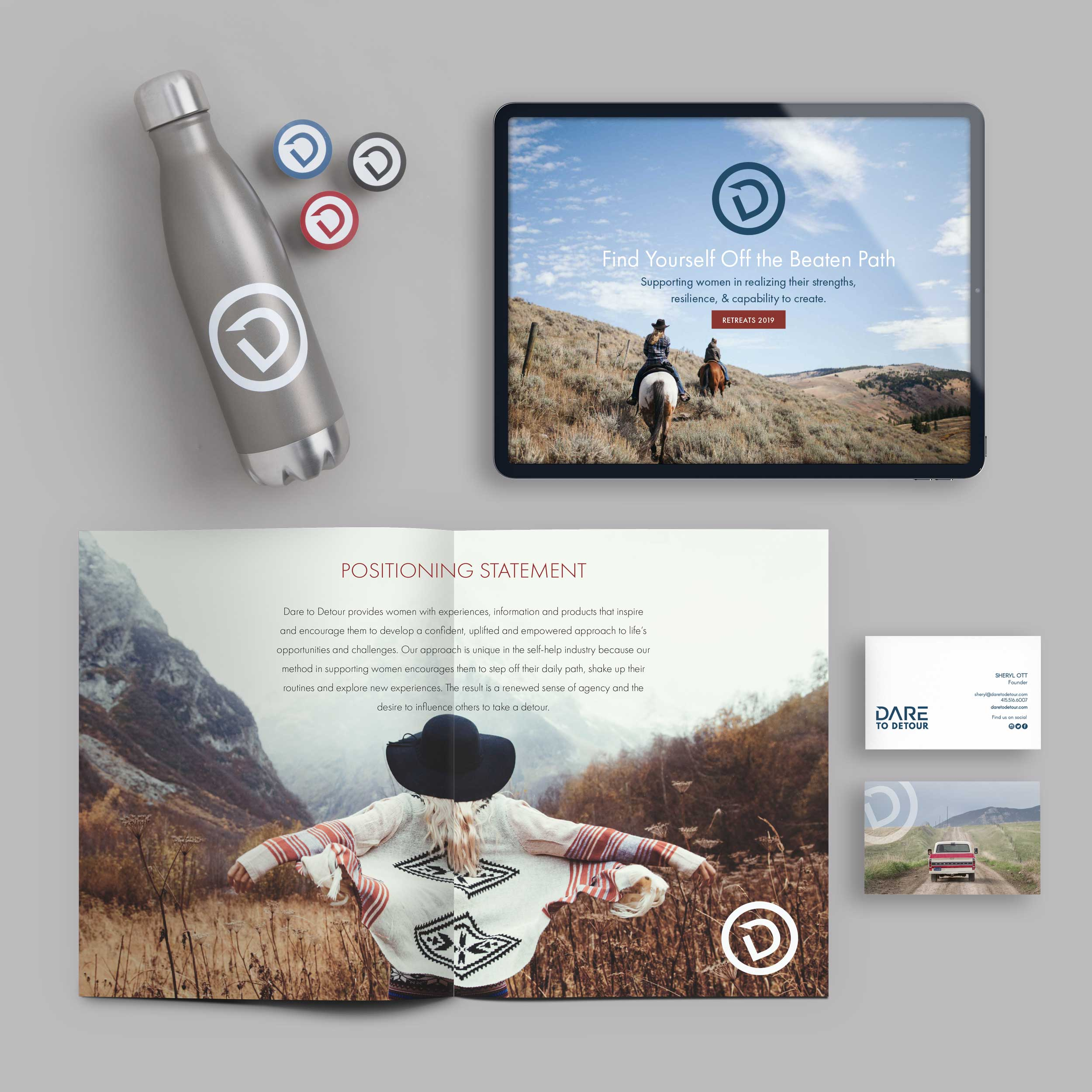 The Brand Builder Package - In this package you get great results for a great value. We take a look at your business holistically & create a visual story to propel your brand forward. It's a deeper dive into your brand strategy resulting in a sophisticated brand identity. One that will take your business to the next level.