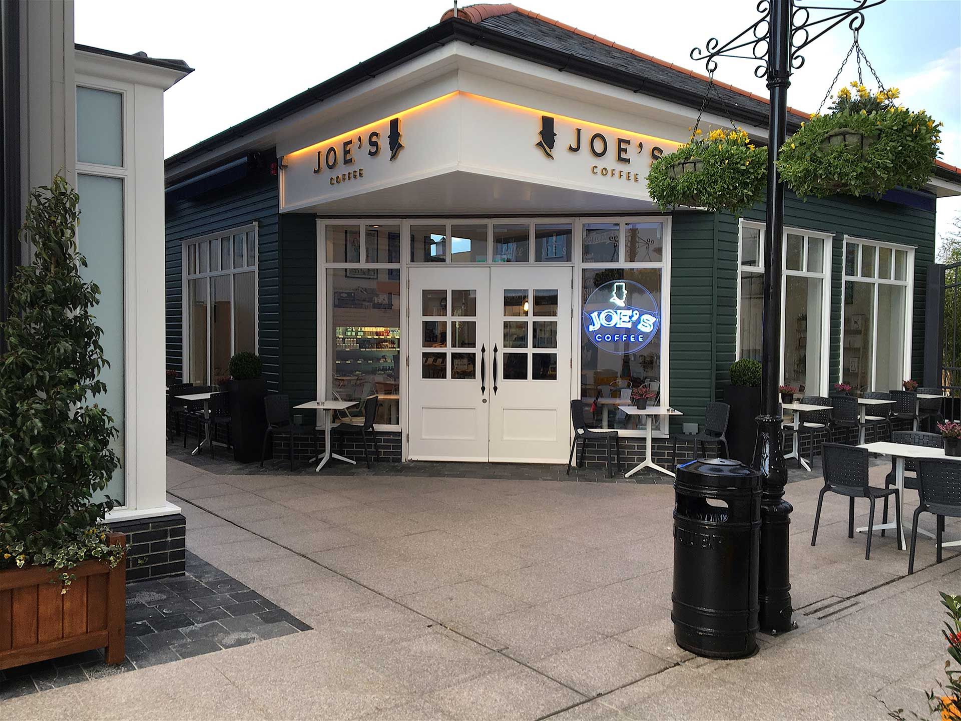 Joe's Kildare Village  Nurney Road  Kildare   Map