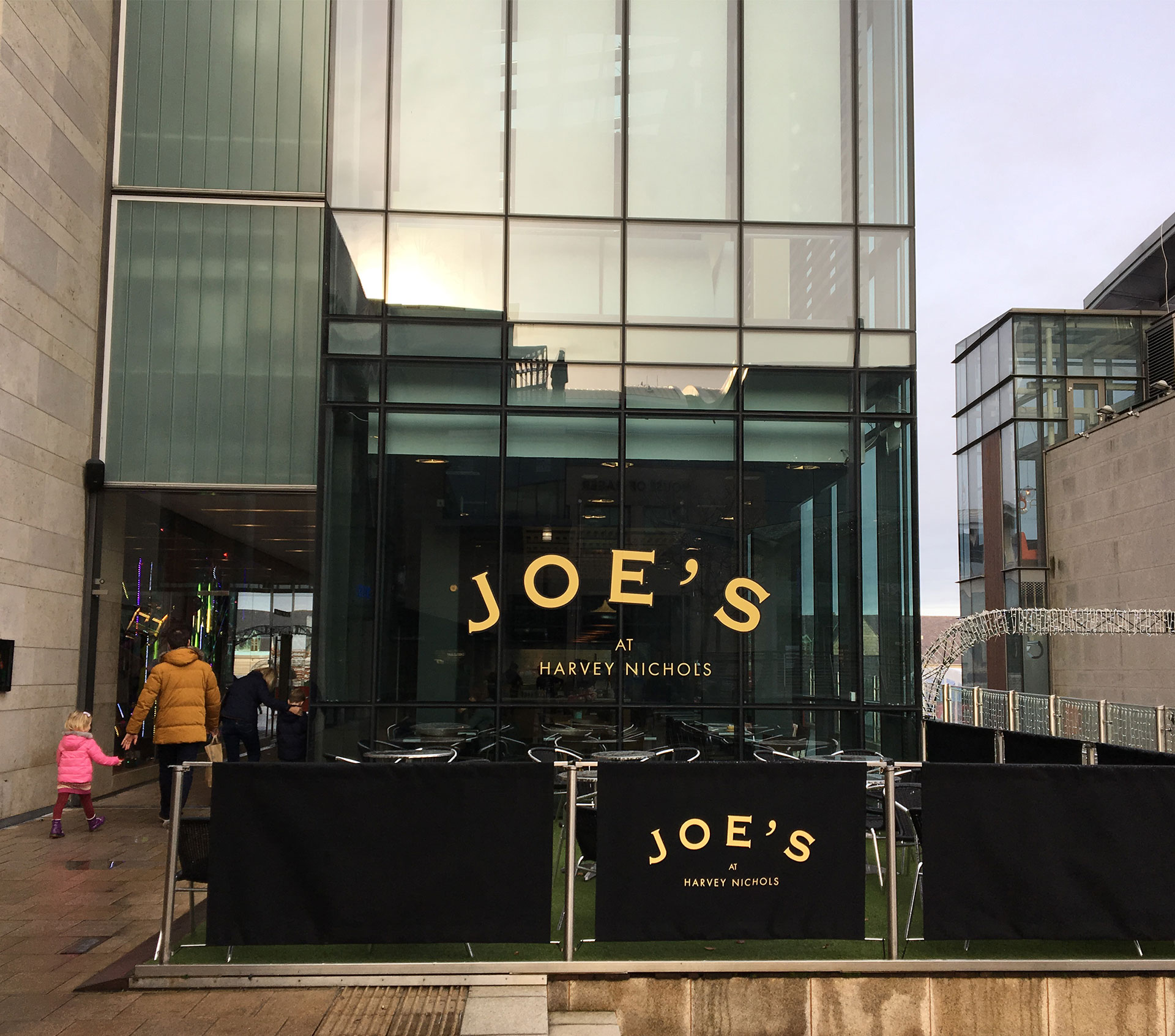 Joe's Harvey Nichols  Dundrum Town Centre   Dublin 14   Map