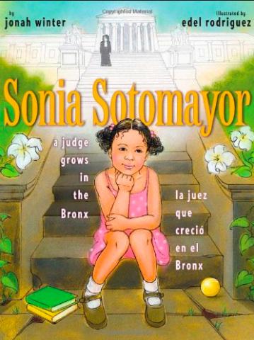 Sonia Sotomayor por Jonah Winter - Una inspirada historia sobre la jueza de la Corte Suprema de Estados Unidos. Disponible aquí.