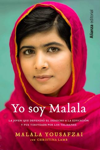 Yo soy Malala por Malala Yousafzai - Una autobiografía escrita por la ganadora del premio Nobel sobre su experiencia luchando por la educación. Un buen libro para hablar sobre privilegios. Disponible aquí.