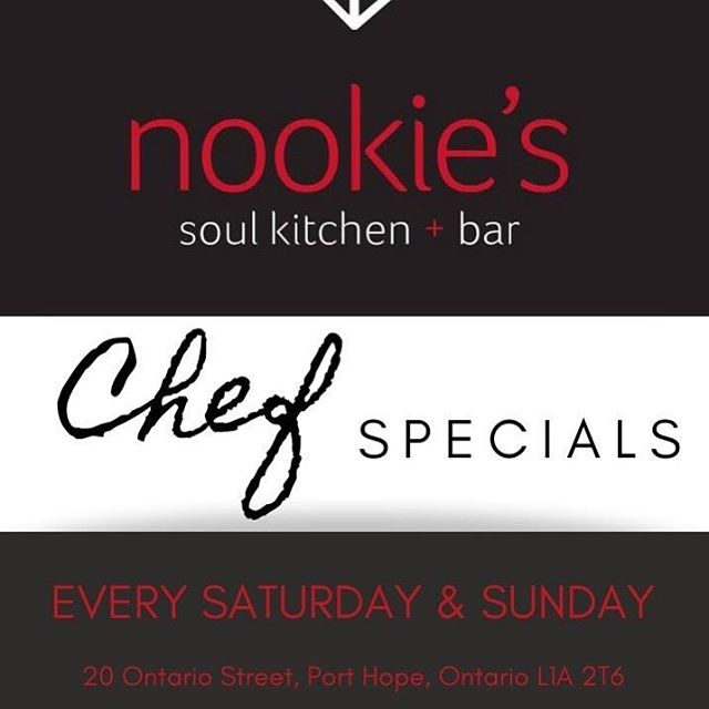 Saturday & Sunday Special at Nookie! 🤤