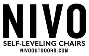 """N IVO Outdoors  NIVO Outdoors manufactures a unique, self-adjusting outdoor chair which allows you to sit """"on the level"""" virtually anywhere. Our…   Read More"""