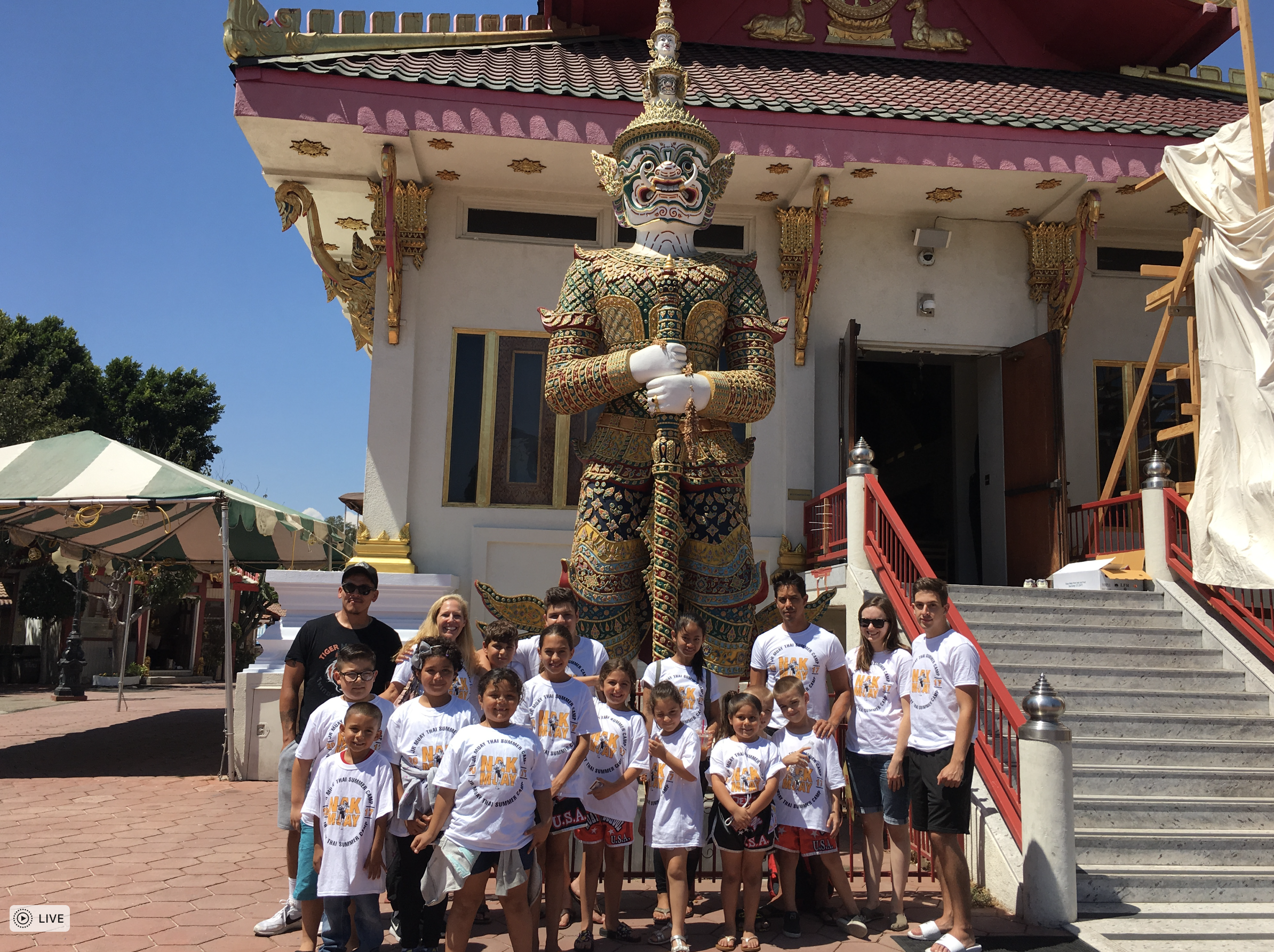 VISIT TO A THAI TEMPLE IN NORTH HOLLYWOOD