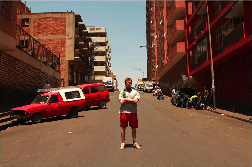 Ilja Stahl in Hillbrow;Johannesburg